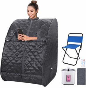 best portable sauna, portable steam sauna, sauna for home
