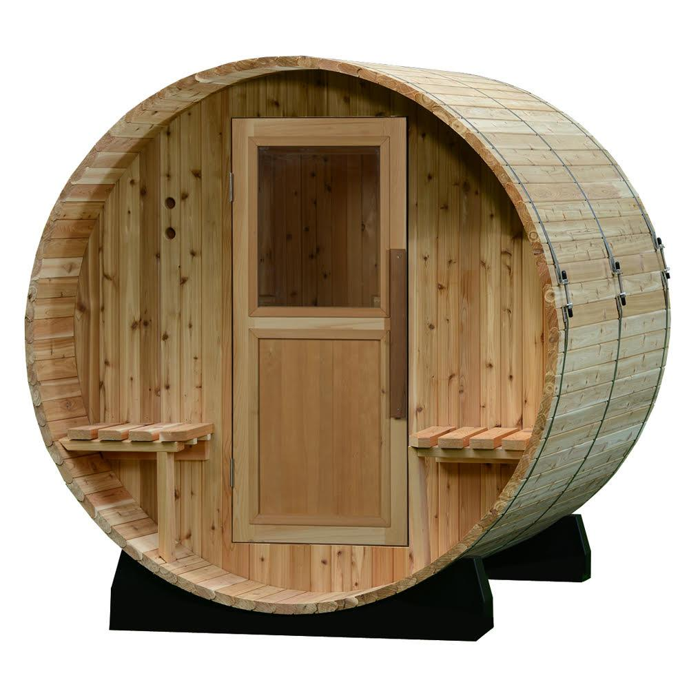 best barrel sauna, best traditional sauna, Almost Heaven barrel sauna