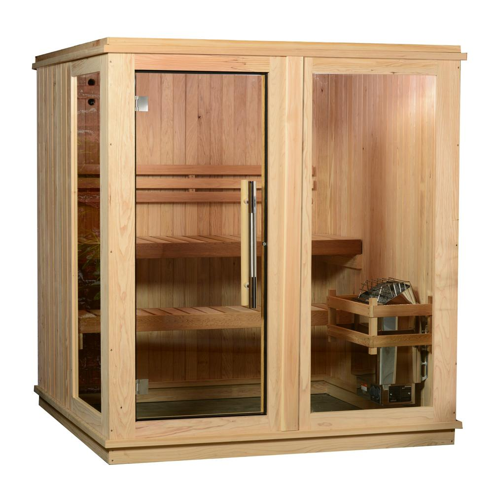 Almost heaven saunas, Almost heaven grayson sauna, 4-person sauna, electric sauna, cedar sauna
